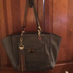Steve Madden leather shoulder bag sachet
